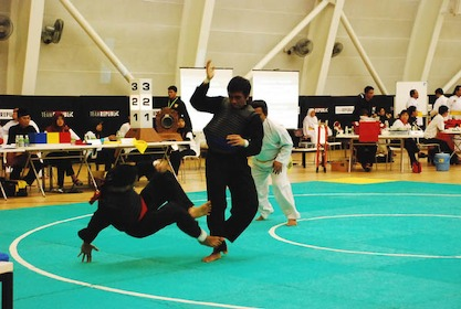 Ngee Ann Polytechnic lead 6th Tertiary Silat Championships « Red ...