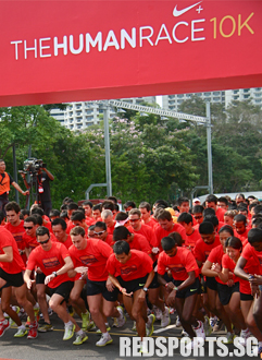 Singapore only country in SEA to host Nike+ Human Race 10k « Red ...