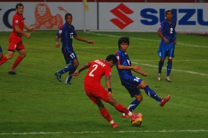 Singapore demolish Cambodia 5-0 to start defense of ASEAN ...