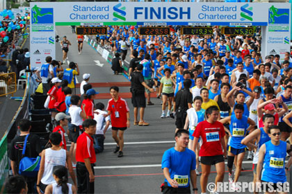 Hitting the (human) wall at the Singapore Marathon « Red Sports ...
