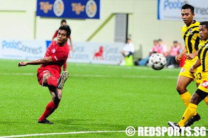 Brunei DPMM sneak a draw against Young Lions in S.League football ...