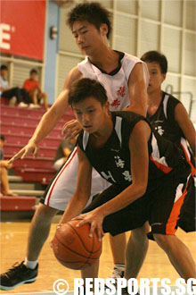 Maris Stella High vs North Vista in Round 2 of B Division North Zone basketball