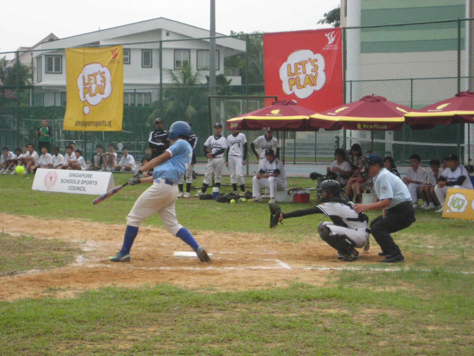 Raffles Institution overrun Maris Stella High for B Division boys ...