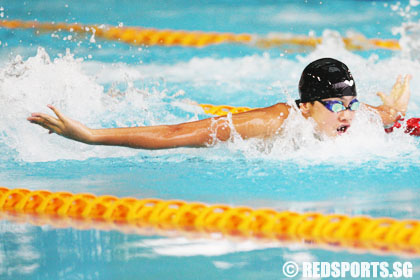Swim Sensation Joseph Schooling Of Acs I Lights Up Inter School Championships Red Sports