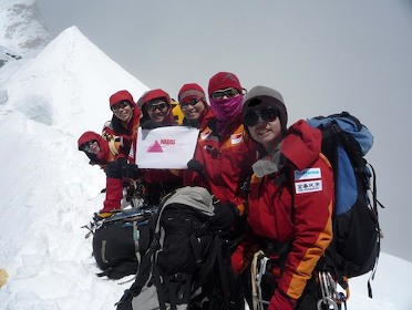 Singapore Women's Everest Team