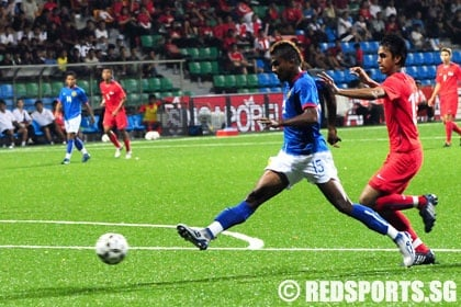 Young Lions tamed by Malaysia in football friendly « Red Sports ...
