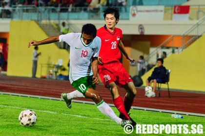 Ugly brawls mar Young Lions' 2-0 win over Indonesia in football ...