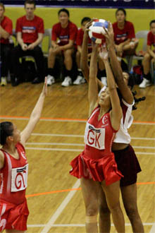Singapore netball aims to defend asian title