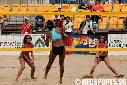 AYG Beach Volleyball: Dorita and Yi Ting fail to qualify for next ...