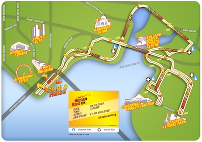 Nike+ Human Race 10K sees new route starting at the F1 Pit ...