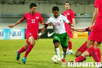 singapore vs indonesia international football friendly