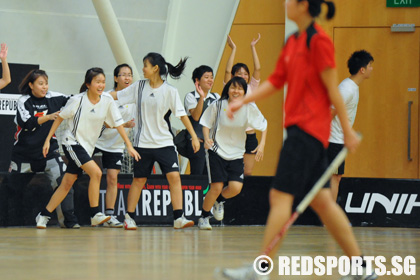 IVP10 Floorball Women NTU vs SIM