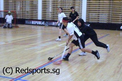 NP vs SIM floorball