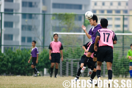 St Gabriel's thrash Queensway 6-0 in C Division football « Red ...