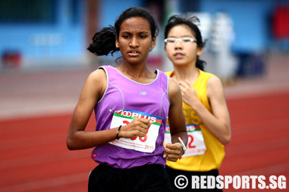Ranjitha of Juying Secondary posts fastest timing in B Division 1500m ...