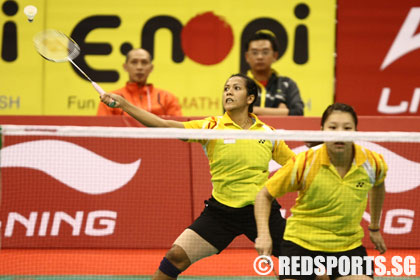 li ning open badminton singapore quarter-finals