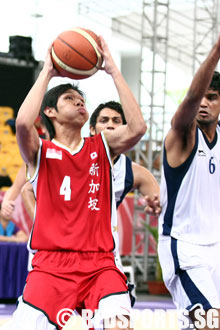 ... : Russel Low scores 19 points as SINGAPORE SWEEP India to finish 17th