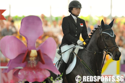 Youth Olympic Equestrian Round 2