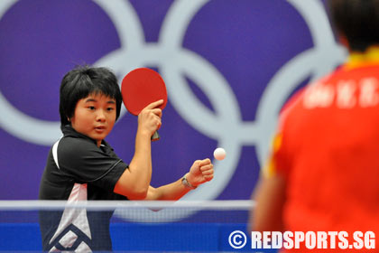 Youth Olympic Table Tennis Girls Finals