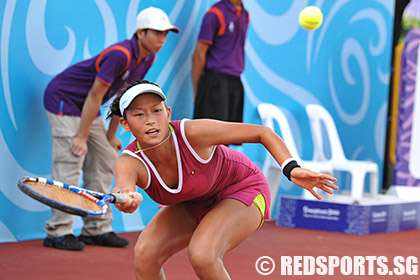 YOG Tennis Girls Singles