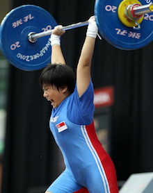 Youth Olympic weightlifting