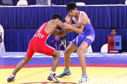 Youth Olympic wrestling
