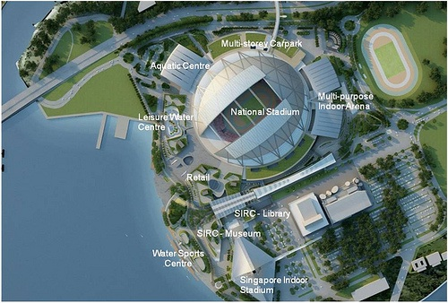 Singapore Sports Hub deal signed