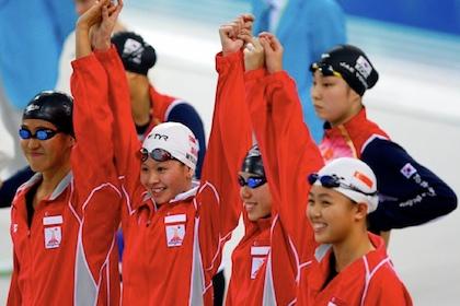 asian games swimming