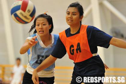 IVP Girls Netball NTU vs SP