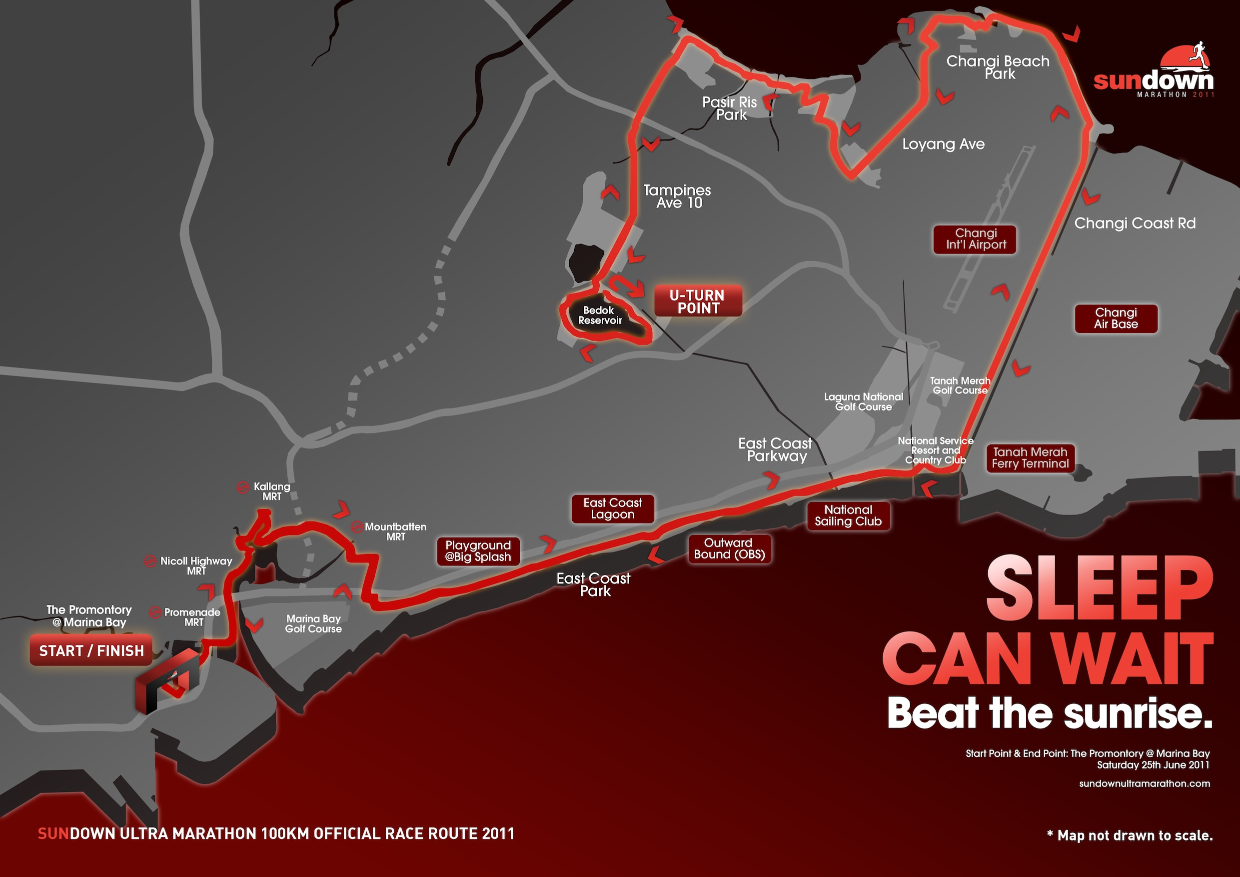 SUNDOWN MARATHON routes confirmed – Red Sports. Always Game.