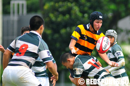 B division rugby semifinals