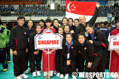 the singapore team at the