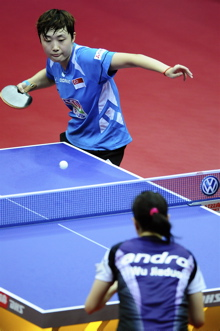 Table Tennis: Feng Tianwei takes Volkswagen 4th spot
