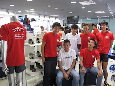Singapore Track and Field athletes get Asics product sponsorship ... 7a993d261d
