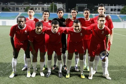Football: Red Sports first XI for Singapore LionsXII