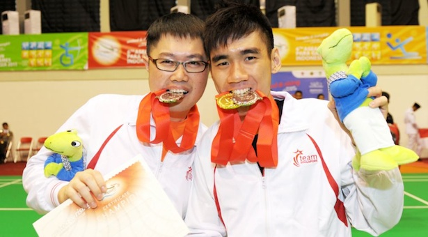 ASEAN Para Games: Singapore's Tay Wei Ming defends badminton singles title