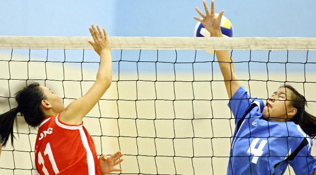 Volleyball zones