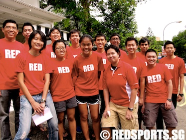 red sports crew january 2012