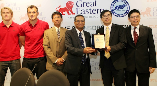 Football  Great Eastern to continue S.League sponsorship for two seasons 1fd39d7549