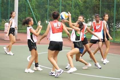 south zone b division netball