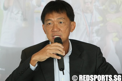 Football: Lim Chin is new S.League CEO