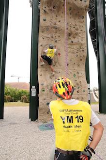 sport climbing safra avventura