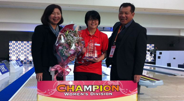 Cherie Tan wins women's title at International Bowling Championships