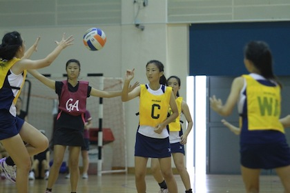 west zone b div netball