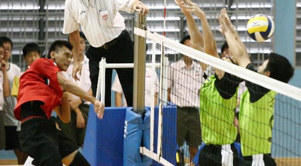 B Div Vball: Shuqun cruise to victory over Catholic High in semi-final