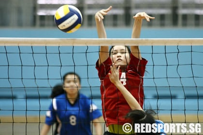 B Div Vball (Girls): Dunman beat Fairfield to qualify for second round