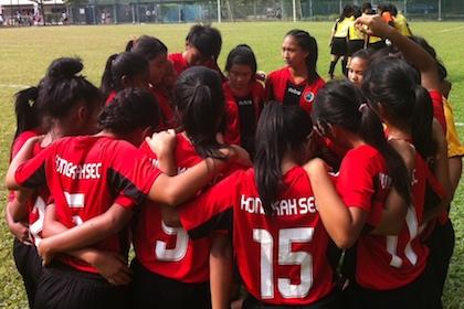 B Div Football (Girls): Hong Kah upset Woodlands 1-0