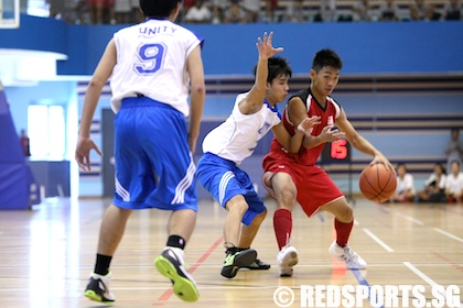west zone b div bball unity vs jurong