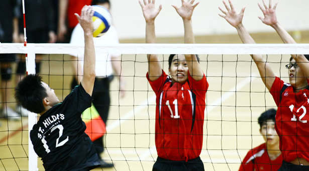 B Div Vball: 5-time defending champs St Hilda's felled by Shuqun in championship final
