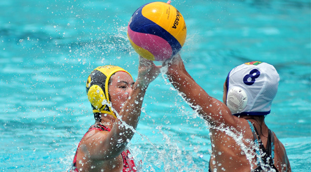 A Div Water Polo (Girls): Raffles beat TJC 15-4 to win 5th title in a row